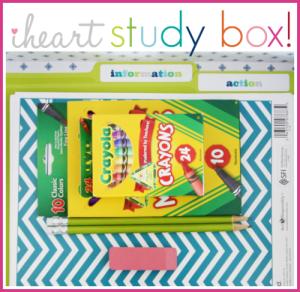 i heart study box